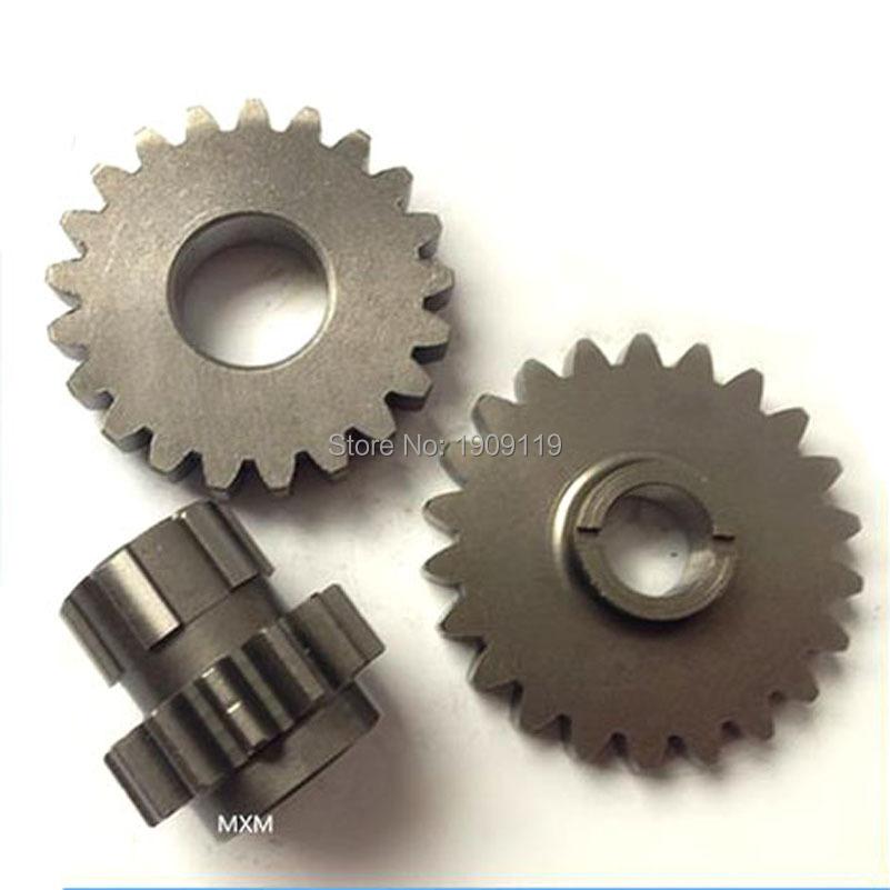LIFAN W125/W140/W150 Engine Driven Gears 3pcs Sprocket Kit/Free Shipping/LIFAN Factory Warehouse Wholesale Directly(China (Mainland))