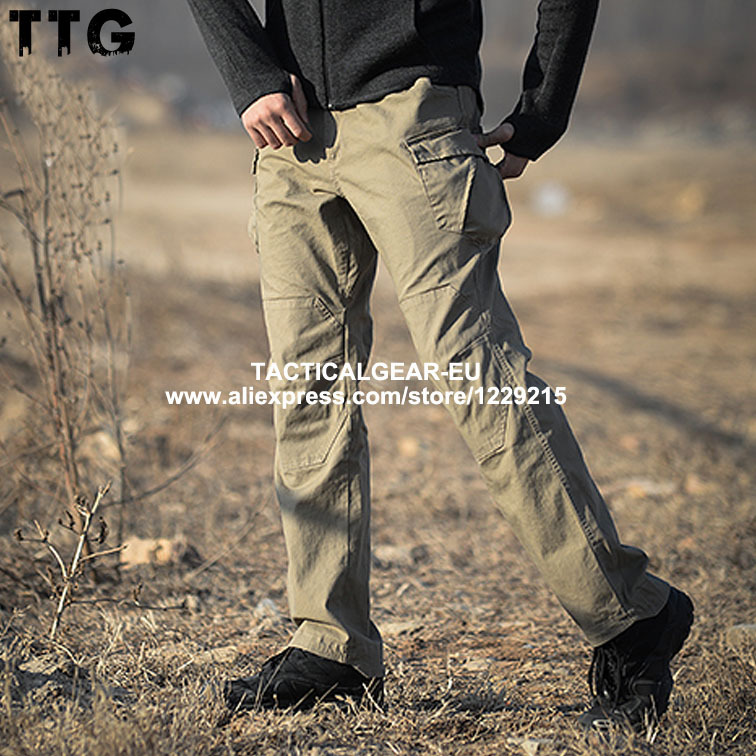 Jiazhou Military Cargo Pants Tactical Casual Pants Multi-Pocket Urban Fashion Sports Loose Combat Trousers 97% Cotton+3% SpandexОдежда и ак�е��уары<br><br><br>Aliexpress
