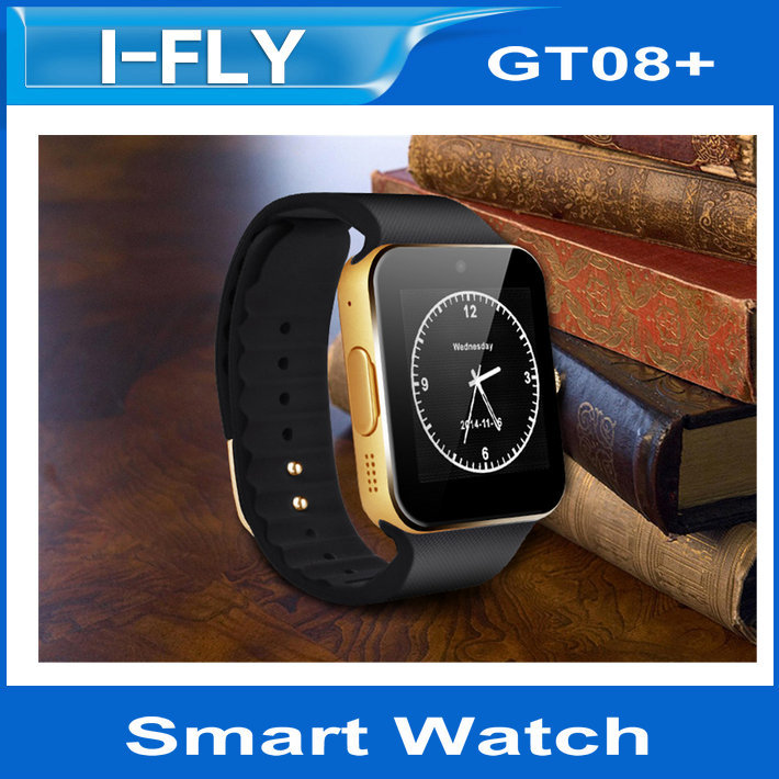2015 Hot New Smart Watch GT08+ for Andriod ios Mobile Phone Bluetooth Watch for iPhone Samsung Wearable Device Phone(China (Mainland))