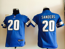 All stitched Youth Detroit Lions Kids children9 Matthew Stafford 20 Barry Sanders 81 Calvin Johnson(China (Mainland))