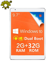 Teclast X98 Air III dual boot Android 5.0 & windows 10 Tablet PC 9.7 inch IPS Screen Intel Z3735F Quad Core 2GB/ 32GB Buletooth(China (Mainland))