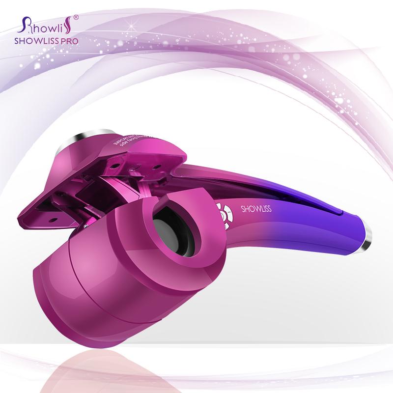 2016 Variegated colour Titanium Auto Hair Curler Hair Styling Tools Ceramic Wave Hair Roller Magic Curling Iron Hair Styler(China (Mainland))