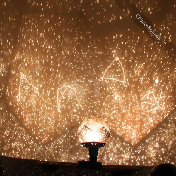 New Fantastic Celestial Star Projector Lamp Night Light Funny DIY superb(China (Mainland))