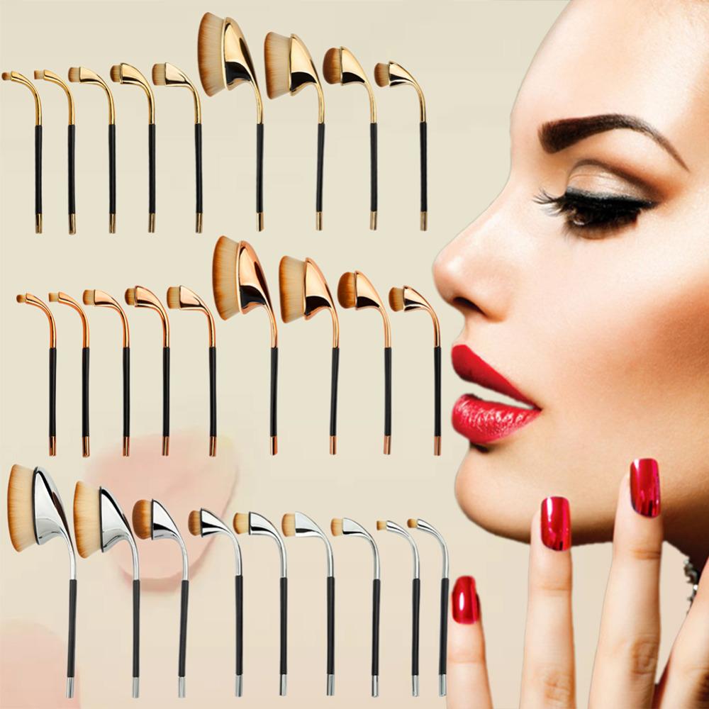 9pcs Makeup Brushes Plastic Handle Soft Makeup Brush Set Stylish Powder foundation Concealer Blush Makeup Beauty Tools Sets/Kits(China (Mainland))