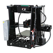Upgrade M505 Full Acrylic Reprap Prusa i3 LCD 3d printer DIY Kit printer 3d metal printer