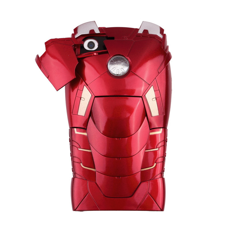 Armor Protective Hard Back Case 3D Iron Man Mark For iPhone 5 5S Promotion(China (Mainland))