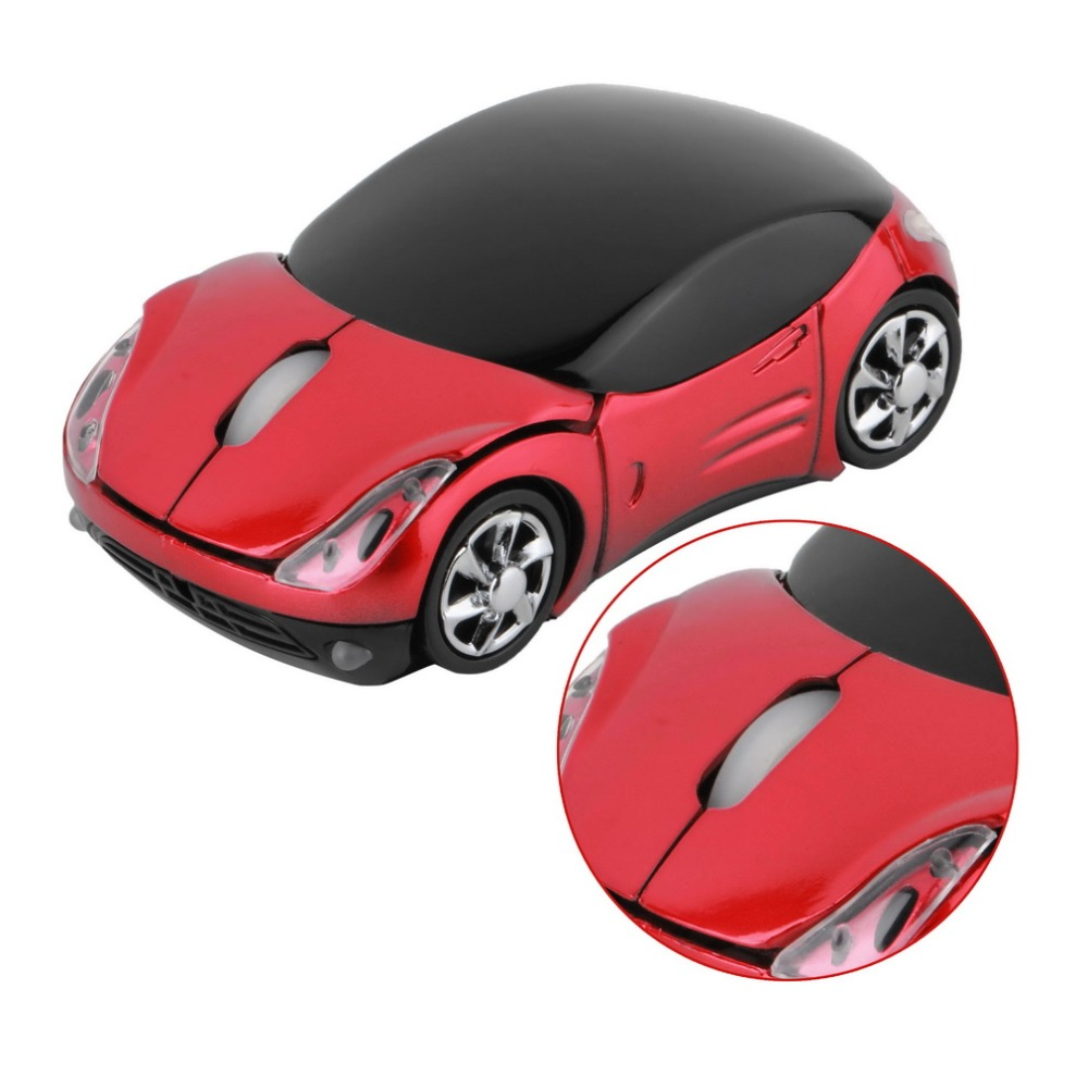 1000DPI Wireless Car Optical Mouse + USB receiver(China (Mainland))
