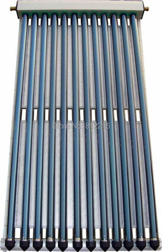 Free Shipping CSU10/58 U pipe solar collector dia58-1800-10tubes without the vaccum tubes(China (Mainland))