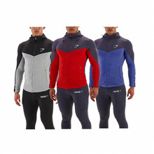 2015 Gymshark hoodies fashion men's wool hat quality sports jacket slim healthy men jerseys(China (Mainland))