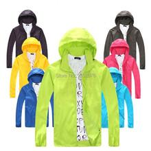 Spring Summer Outdoor Sport Thin Jacket Windbreaker Waterproof Sun protection Movement Coat Lightweight Quick-dry Hiking Jackets