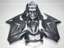 Buy Injection mold ABS plastic fairing kit Kawasaki ninja 250r 08 09 10-14 2008-2014 matte black EX250 fairings set PO17 for $365.00 in AliExpress store
