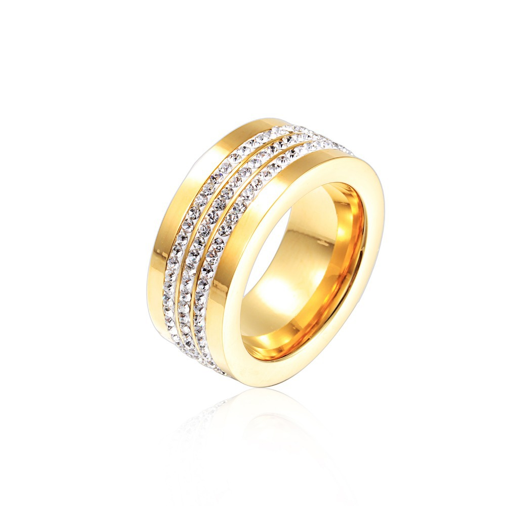 Aliexpress Buy Fashion Gold Filled Women Rings Vintage 18K Wedding Jewe