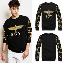 Hot 2015 spring winter Versa Hip-hop men women's golden eagle paris 3d print pullovers harajuku Galaxy Sweatshirts Hoodies Tops(China (Mainland))