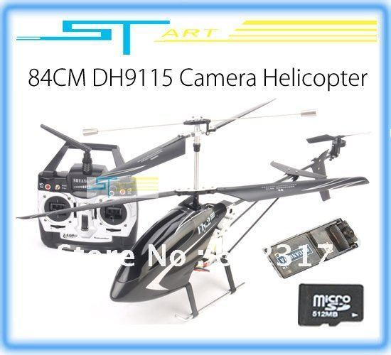 Biggest Camera rc helicopter Double Horse 9115 helicopter 3CH 2.4G dh9115 Helicopter W/ Built-in Gyro Wholesale toy hobbies(China (Mainland))