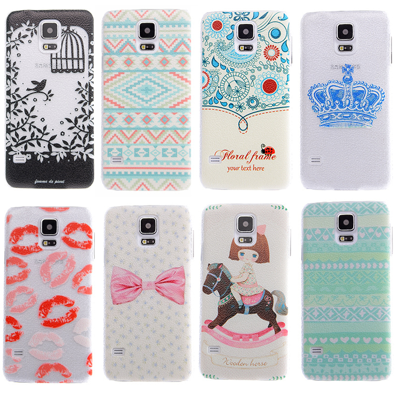Case for Samsung Galaxy S5 i9600 Scrawl drawing Cover Free shipping mobile phone bags & cases Brand New Arrive 2015 accessories(China (Mainland))