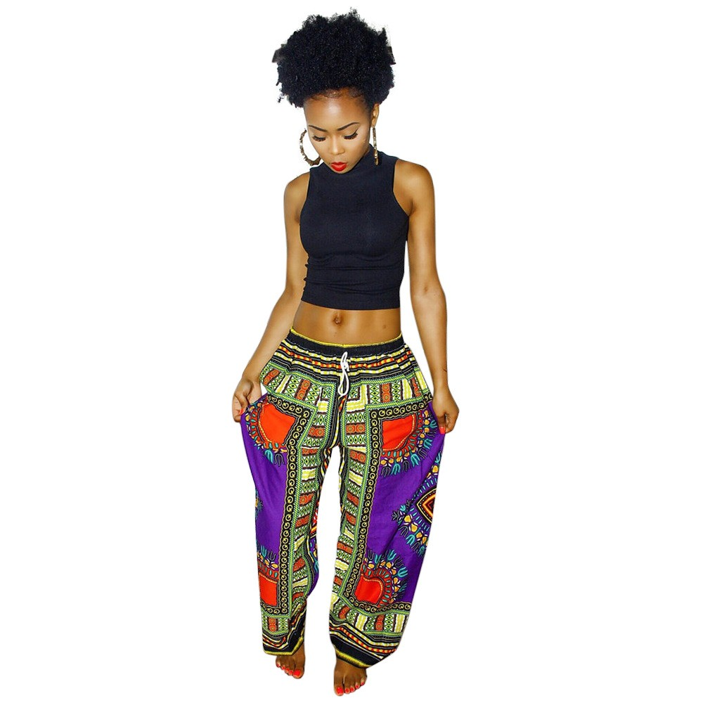 Dashiki Print Pants – https://www.zishopu.com