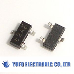 Free Shipping One Lot 100 PCS MMBT3906 SOT-23 2N3906 SMD PNP 40V 0.2A transistor NEW(China (Mainland))