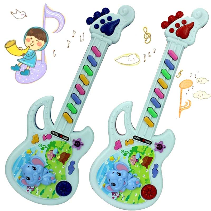 1 piece Musical Educational Toy Baby Kids Children Portable Guitar Keyboard Developmental Cute Toy -17 FJ88(China (Mainland))