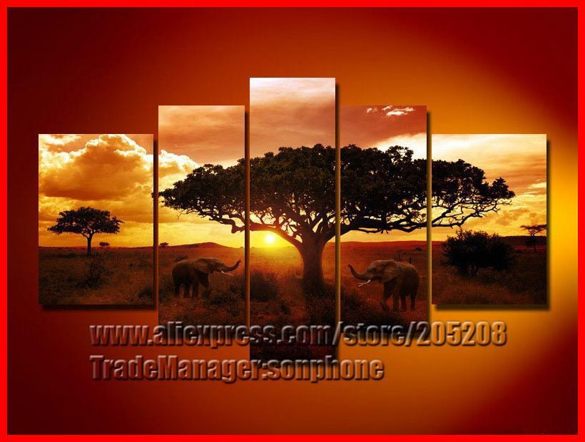 South African Landscape Oil Paintings South Africa Oil Painting