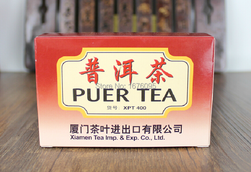 Pu'er tea 20 small bag / box Healthy weight loss, prevention of cardiovascular disease Chinese first sales(China (Mainland))