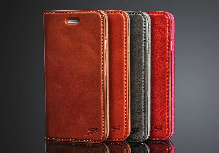 100pcs/lot New Luxury Release For iPhone 4.7'' Cowhide Oil Wax Pattern Card Bracket Leather Case Cover For Apple Phone Holster(China (Mainland))