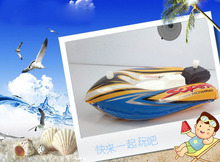 3 pcs/lot Baby Toy Wind Up Toys Inflatable Water Toys For Children Ship Boat Speedboat(China (Mainland))