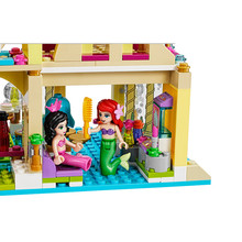 383PCS Bela 10436 The Mermaid Series Undersea Palace Princess Bricks Building Block Toys Compatible With LEPIN(China (Mainland))