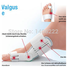 Broadhurst day and night orthotast of recitification toes hallux valgus correction footcare orthopedic free shipping 1pair=2pcs(China (Mainland))