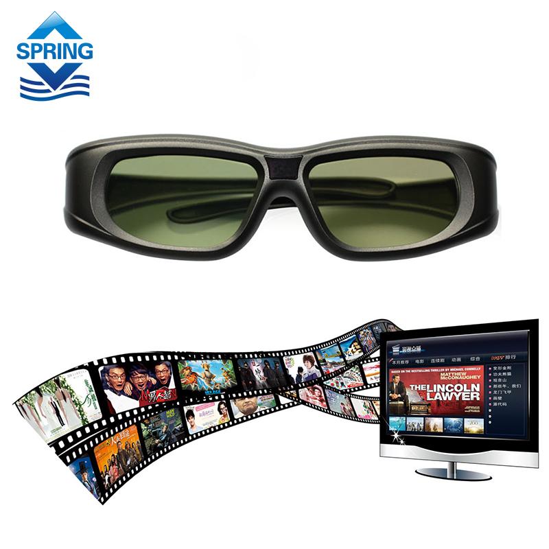 2016 Newest Gonbes N05-IR 3D Active Shutter Glasses For Optomal Sharp LG Acer BenQ DLP-LINK DLP Link Projectors Gafas 3d(China (Mainland))