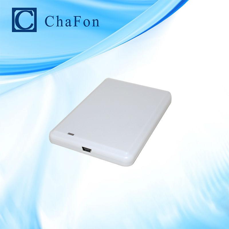 uhf rfid reader oem with usb interface with sample uhf card free shipping(China (Mainland))