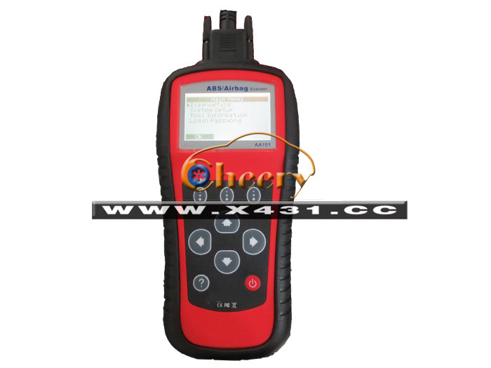 AA101 Troubleshoot ABS Airbag Scanner AA101 obd2 code scanner AA-101 scanner engine ABS Airbag warning lights Read/clear codes(China (Mainland))
