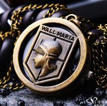 New style bronze good quality WALL MARIA quartz pocket watch necklace pendant Cartoon clock women Men kids gift(China (Mainland))