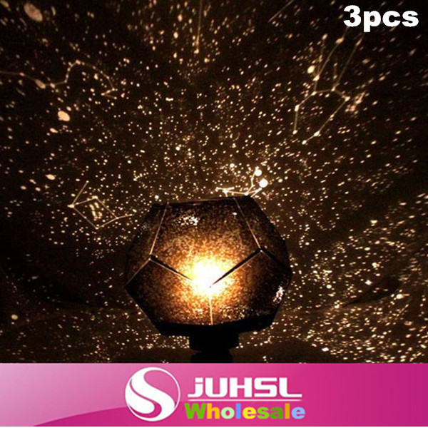 Novelty Electronic Science projectors, colorful night light,20cm*28cm,romantic Four Seasons Star Projector send power adapter,3x(China (Mainland))