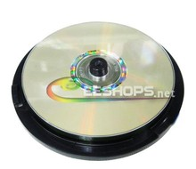 Best New Lot 10pcs Blank CD Discs Lightscribe for Verbatim 52X CD-R Rewritable Gold Disc Printable 700MB/80Min Spindle Pack(Hong Kong)