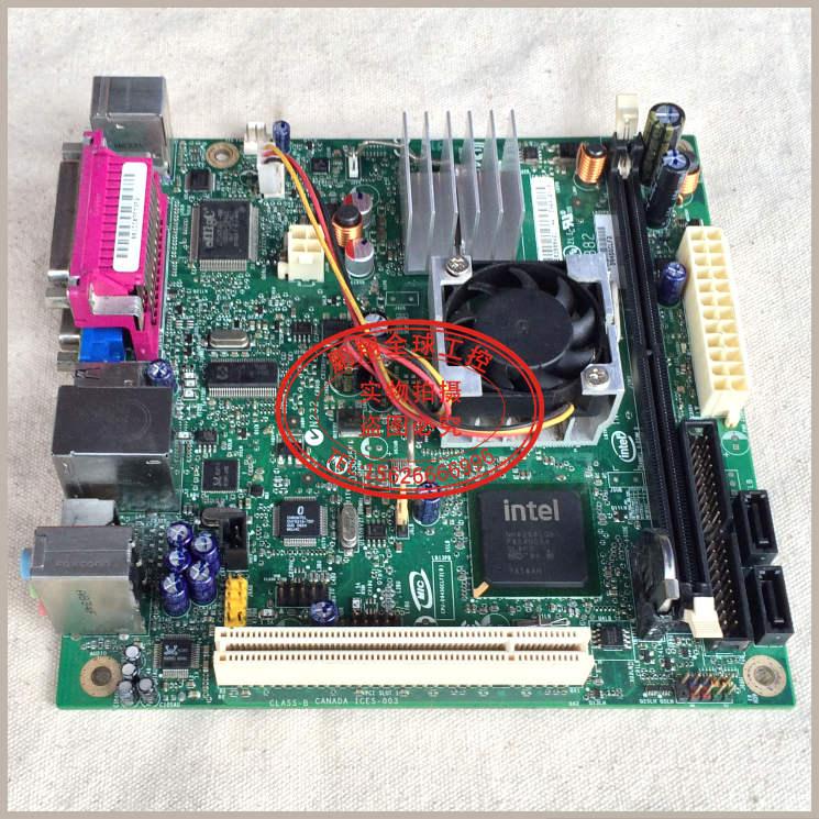 Free shipping Intel D945GCLF2D motherboard IPC POS machines ITX 17 * 17 ATOM 330(China (Mainland))