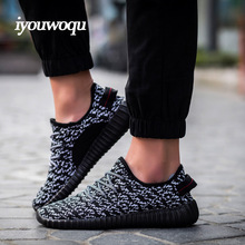 HOT High Quality 2016 New Fashion Men and Women Casual Shoes Wedges tide of Youth Cotton Mesh shoes Plus Size 35-46 black Grey