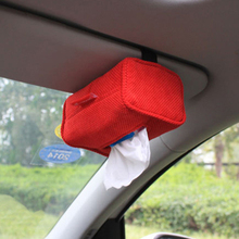 Useful Automobile Tissue Box, Stowing Tidying for Napkin, Car Tissue Box Refinement Convenience Strap, Auto Interior Accessories(China (Mainland))