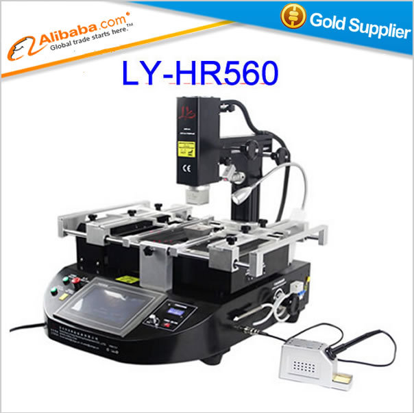 Free shipping Factory price HR and IR bga rework station,LY HR560 welding machine,high quality bga repair system,bga repair tool(China (Mainland))