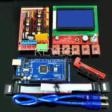 3D Printer Kit 12864 LCD + RAMPS 1.4+ 4988 + Mega 2560 R3 3D0008 Open Source