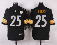Pittsburgh Steelers #43 Troy Polamalu Elite White and Black Team Color high-quality free shipping(China (Mainland))