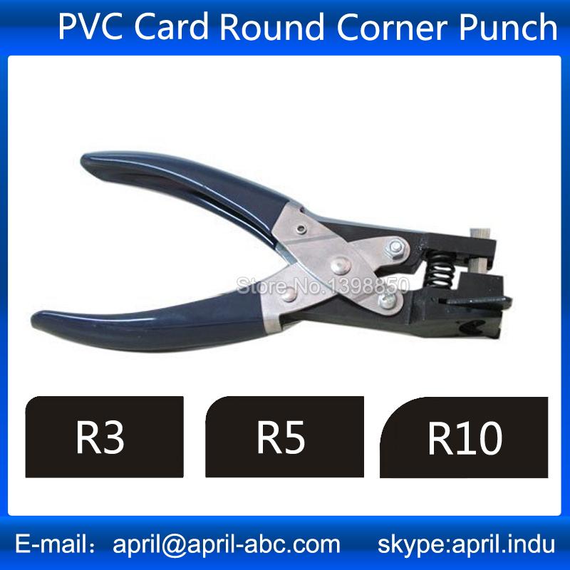 Standard slot punch sizes