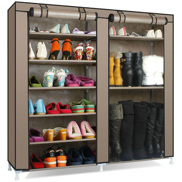 Фотография Dust cover special shoes shoe rack cabinet Simple assembly dorm double capacity with anti