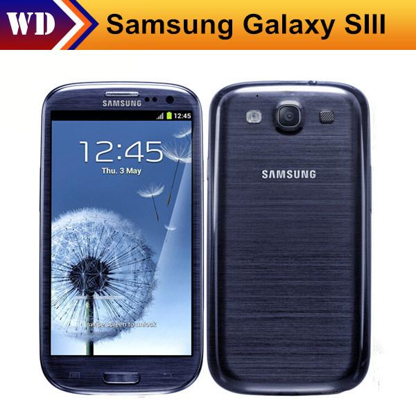 Black Friday Original Samsung S3 i9300 Cell phone Quad Core 8MP Camera NFC 4.8'' Touch GPS Wifi GSM 3G Unlocked Refurbished(China (Mainland))