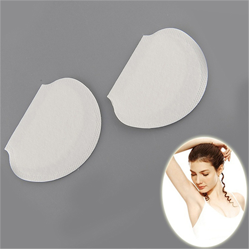 Summer Disposable Absorbing Underarm Clothing Armpits Sweat Pads Guard Shield Deodorant Perspiration Pads 20 Pairs(China (Mainland))