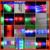 Free shipping 100pcs/lot 4*48cm multi color 3 modes customized logo led foam stick led foam baton glow stick for wedding party
