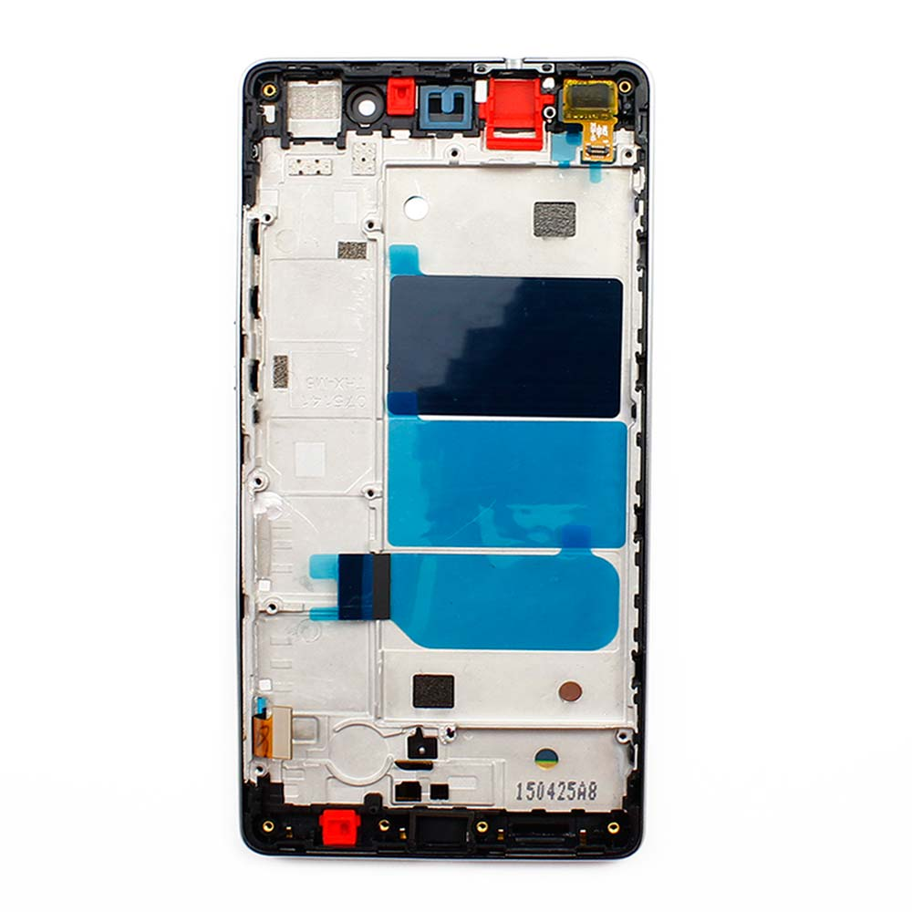 10pcs/lot Black  P8 lite LCD Display + Touch Screen Digitizer With Frame Assembly Replacement For Huawei Ascend P8 lite