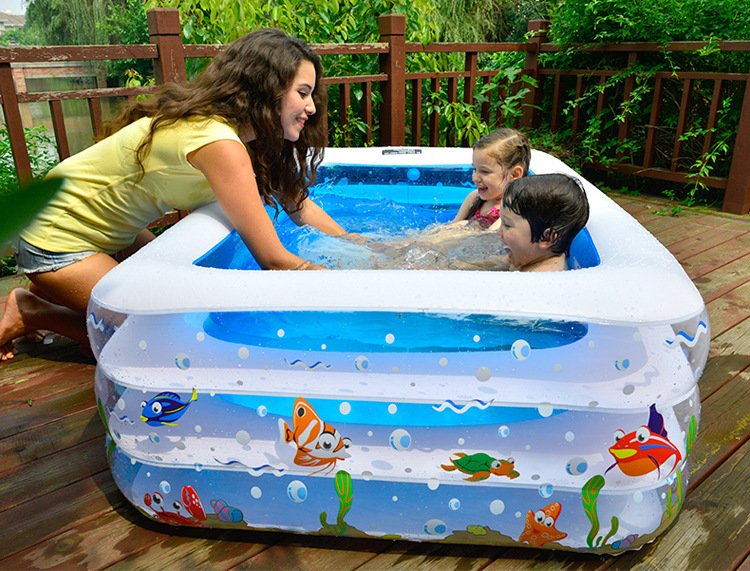2016 hot sale Baby baby children swimming pool inflatable warm family swimming pool pool large pool free shipping(China (Mainland))