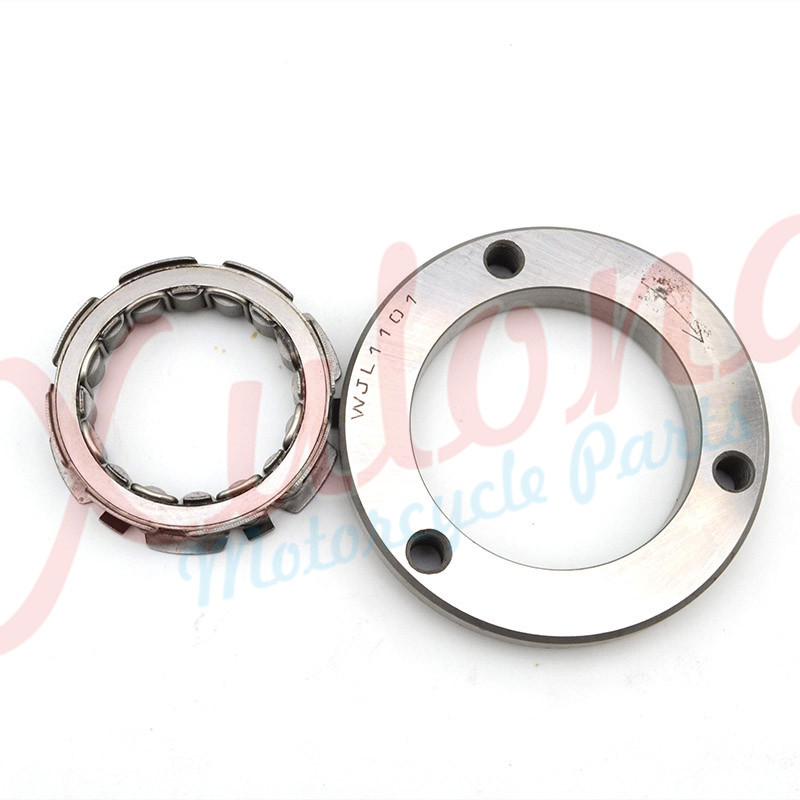 Free Shipping Motorcycle Engine parts one way Starter Clutch Kit For Suzuki DR250 DR 250 Djebel