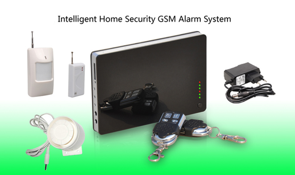 Wireless Intelligent Home Security Burglar GSM Alarm System Warning Via SMS or Calling Support IOS&amp;Android Apps Free Shipping <br><br>Aliexpress