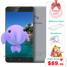 5.5 inch Blackview E7S Smartphone MT6580 Quad Core 2GB 16GB 1280x720 Mobile Phone Android 6.0 Fingerprint 8.0MP Unlocked Phone(China (Mainland))
